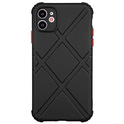 TPU Handyhülle für iPhone 11 (6,1 Zoll) (schwarz)