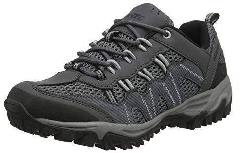 Hi-Tec Jaguar, Zapatillas de Senderismo Hombre, Gris (Charcoal/Grey 51), 43 EU