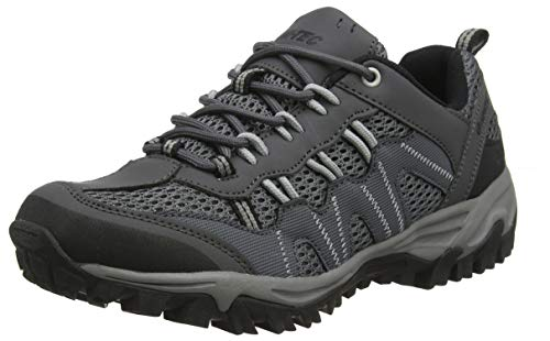 Hi-Tec Jaguar, Zapatillas de Senderismo para Hombre, Gris Charcoal Grey 51, 44 EU