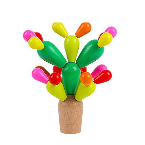 construcciones para niños, Juguetes De Aprendizaje, Juguetes Educativos Para Niños De 1 A 9 Años, Los Bloques De Cactus Para Niños Pequeños Requieren Una Gran Capacidad Práctica, Pueden Ejercitar La C