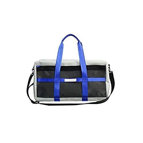 Fashion Single Shoulder Bag Simple Slant Handbag Large Capacity Nylon Travel Bag Fitness BagBarrel Bag (B)