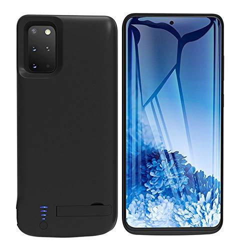 HQXHB Akku Hülle für Samsung Galaxy S20+ Plus 5G, 6000mAh Tragbare Ladebatterie Zusatzakku Externe Handyhülle Batterie Wiederaufladbare Schutzhülle Battery Pack Power Bank Akku Case [6,7 Zoll]