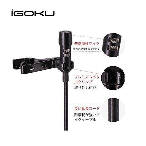 iGOKU『クリップマイク(MIC-002)』
