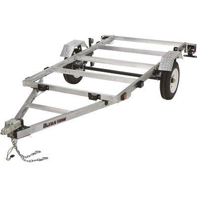 Ultra-Tow 4ft. x 8ft. Folding Aluminum Utility Trailer Kit -...