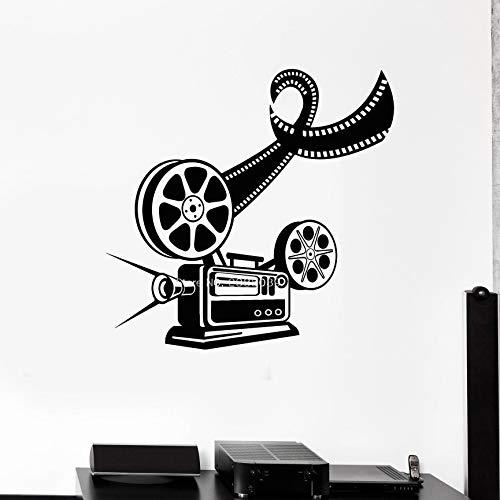 Geiqianjiumai vinyl muur film camera schieten sticker creatieve decoratie muur patroon papier