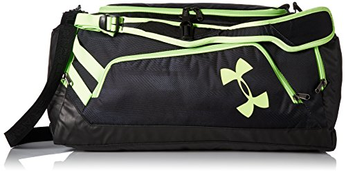 Under Armour Storm Undeniable Backpack Duffle Bag – Medium,Black /Quirky Lime, One Size Fits All