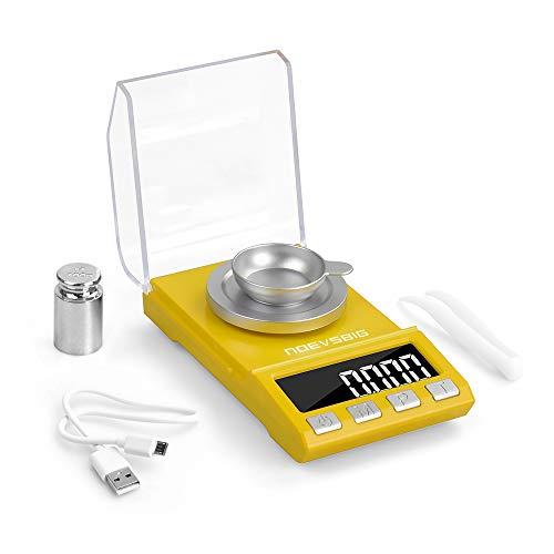 Digital Milligram Scale, 100g x 0.001g High Precision Jewelry Gram Scale, 8 Units Conversion...