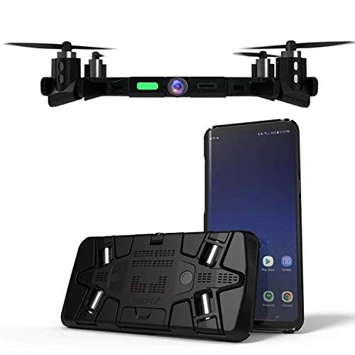 Flying Phone Case Camera - The Thinnest Ever Pocket Sized Flying FPV Drone Camera – Always With You, Autonomously Flies to Capture Photos and 720p Live video, The only one that really fits your pocket