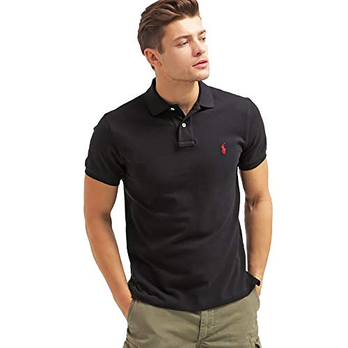 Ralph Lauren Polo Custom fit Small Pony (L, Polo Black)