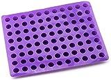 Accesorios de bricolaje 88 cavidades moldes redondos para pasteles de queso molde de silicona para hornear para gelatina de trufa de Chocolate y molde para hielo de caramelo molde para pasteles