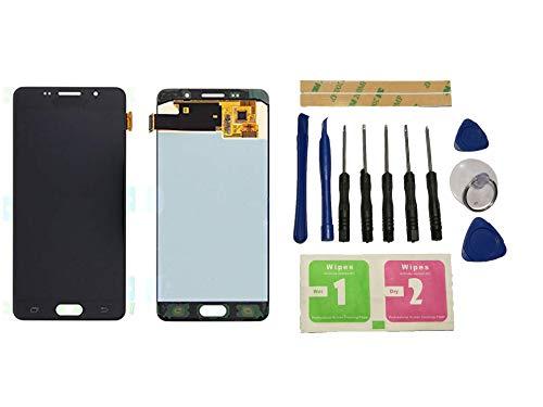 Flügel für Samsung Galaxy A5 2016 A510 SM-A510F Display LCD Ersatzdisplay Schwarz Touchscreen Digitizer Bildschirm Glas Assembly (ohne Rahmen) Ersatzteile & Werkzeuge & Kleber