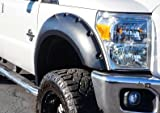 RDJ Trucks PRO-Offroad Bolt-On Style Fender Flares - Fits Ford SuperDuty F250/F350 2011-2016 - Set of 4 (Smooth Black)