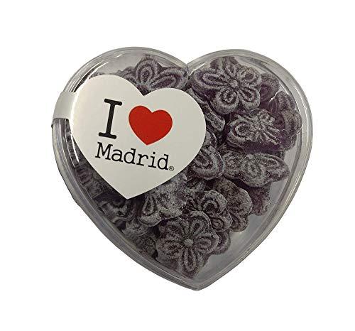 Caramelos Violeta - I Love Madrid - Pack 36 cajas de 70 gramos cada - 2,5 KG
