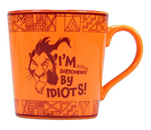 DISNEY - Mug 'Boxed' - The Lion King SCAR 'Surrounded by Idiots'