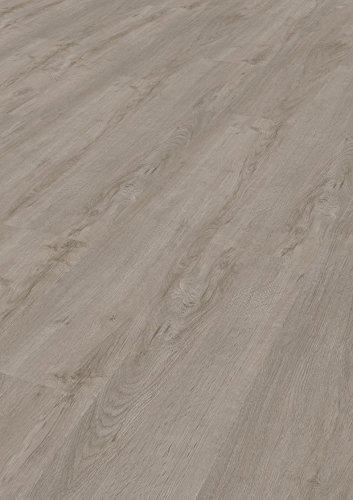 Bodentrend Vinyl Galant zum Kleben, 2 mm Stärke, 0,30 mm Nutzschicht - waterproof - 1 Paket (3,40 m²) (Grey Oak)