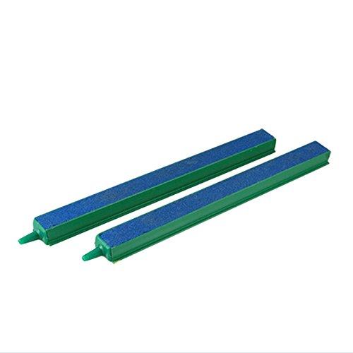 SODIAL(R) 2 x diffuseurs d'air pour aquarium Plus de bulles d'air Vert et bleu 8\