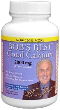Cheap mail order specialty store Bob's Finally popular brand Best Coral Calcium 4 Pack