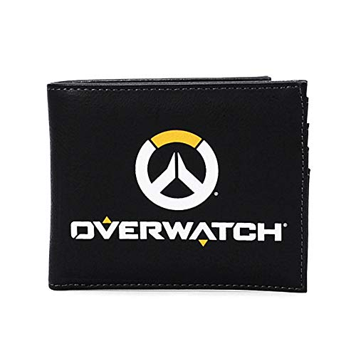 Overwatch - Cartera plegable con logo de The World Needs Heroes