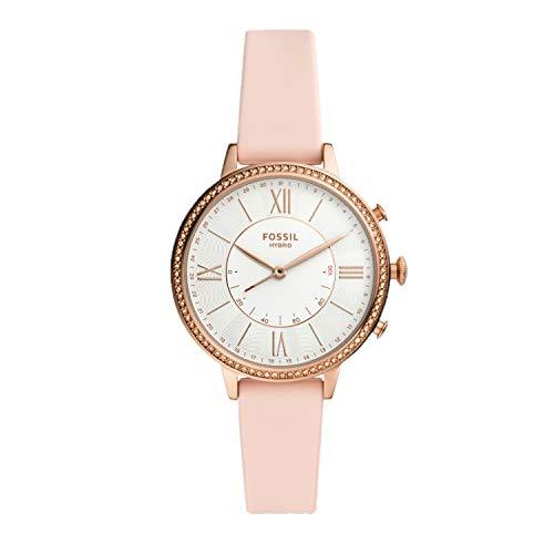 Fossil Hybrid Smartwatch Jacqueline Silikon rosa
