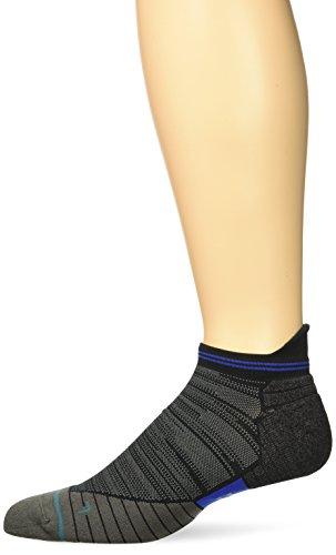 Stance Men's Uncommon Solids Tab Running Sock, Black, M