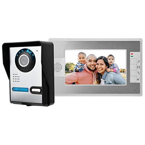 Sistema de Timbre de Seguridad Sistema de Timbre de Video de aleación(European Standard (100-240v))