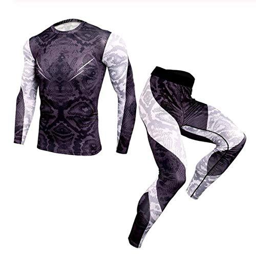 SHYSBV Heren thermisch ondergoed Winter Mannen Thermische Ondergoed Sets Elastische Warm Voor Heren Leggings Ademende Thermo Ondergoed Suits