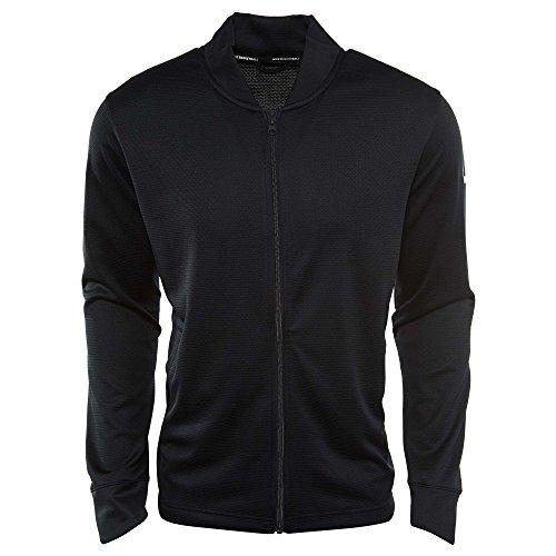 Nike Men's Dry Basketball Jacket Black/White Size X-Large