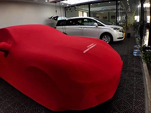 Preisvergleich Produktbild XHDD Auto Auto Kleidung Samt Stretch-Stoff Speziellen Autoschönheitssalon Allgemeiner Auto Kleidung Autoabdeckung Autoabdeckung Waterproof car cover,  garage (Color : Red)