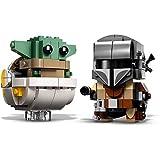 """Ambos modelos estructurales de Star Wars tienen una placa inferior, y el personaje más popular de""""Star Wars: The Mandalorian"""" está hecho de juguetes de bloques de construcción)"""
