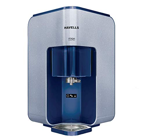 Havells Max Alkaline 7-Liter RO+UV Water Purifier (Blue/White)