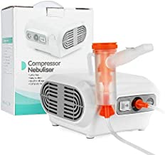 MGLIFMLY Portable Compressor Nebuliser, Home Nebuliser Machine Personal Steam Atomizer for Kids and Adult, Jet Nebuliser Compressor with 1 Set Accessories