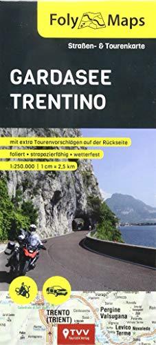 FolyMaps Gardasee Trentino 1:250 000: Straßen- und Tourenkarte