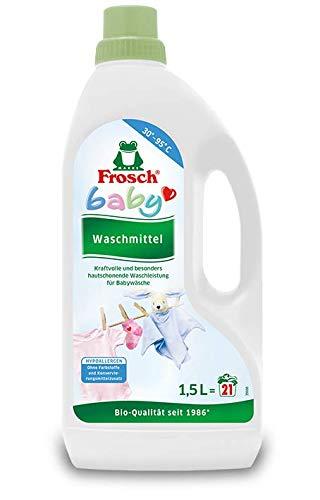 Frosch Baby Flüssigwaschmittel, 3er Pack (3 x 1,5L) für 63 Waschladungen