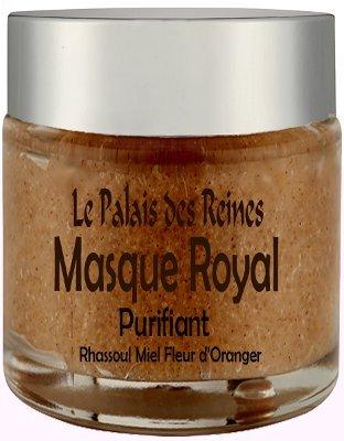 Le Palais Des Reines - Masque Royal Masque Purifiant Au Rhassoul Miel Et Fleur D'Oranger - Pot 125 Ml