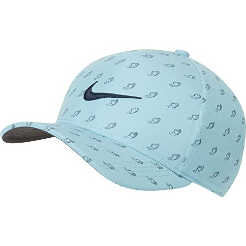 Nike Boné Aerobill Classic99 2020 US Open Winged Foot, Azeite Azul/Antracite/Obsidiana, Large-X-Large