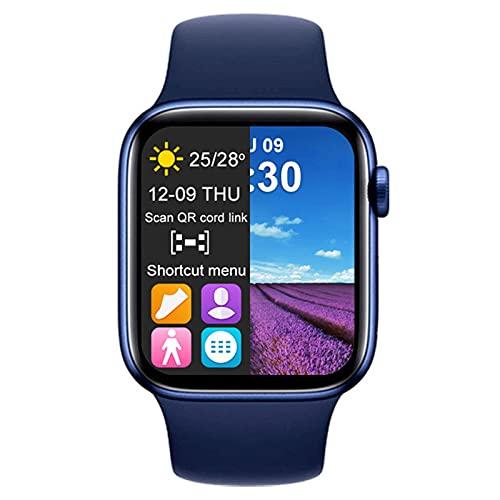 YXJ Smart Watch Men Women T500 Plus Gimnasia Pulsera Pulsera Reloj Deportivo para Android iOS PK W46,B