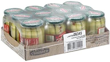 Claussen Hot and Spicy Pickle, 24 Fluid Ounce - 12 per pack -- 1 each.