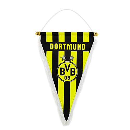 GLUUGES 15×9 inch Football FC Club Flag Pennant Banner Hanging Outdoor or Indoor for Borussia Dortmund Fan