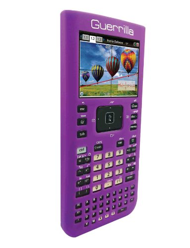 Guerrilla Silicone Case for Texas Instruments TI Nspire CX/CX CAS Graphing Calculator, Purple Photo #5