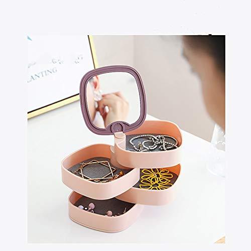Wyongtao Expositor para anillos, joyas, cajón para pendientes, ideal para la casa