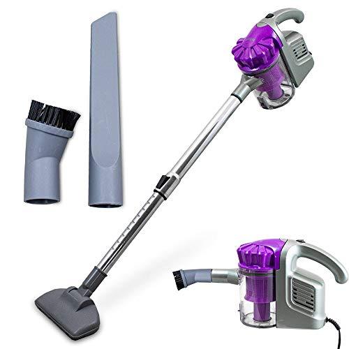 BITUXX® 600W Handstaubsauger Staubsauger Zyklone Cyclone Vacuum Cleaner Bodenstaubsauger Beutellos (Violet)