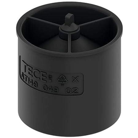 TECE 660016 Drainline - Membrana de cierre anti-olores (4,5 cm de altura, efecto sifón de dos niveles, cierre de membrana), color negro