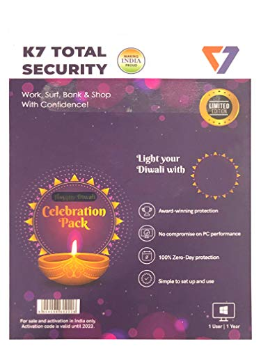 K7 Total Security - 1 PC, 1 Year (CD or Voucher) 4