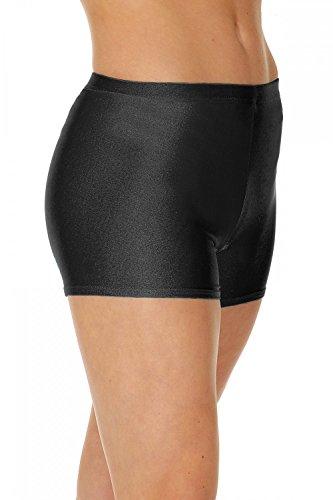 Roch Valley Shorts, Pantaloncini Micro Hot Donna, Nero (Black), 2(Taglia Produttore:134-140)
