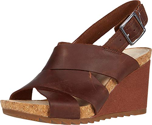 Clarks Flex Sand Light Tan Leather 9