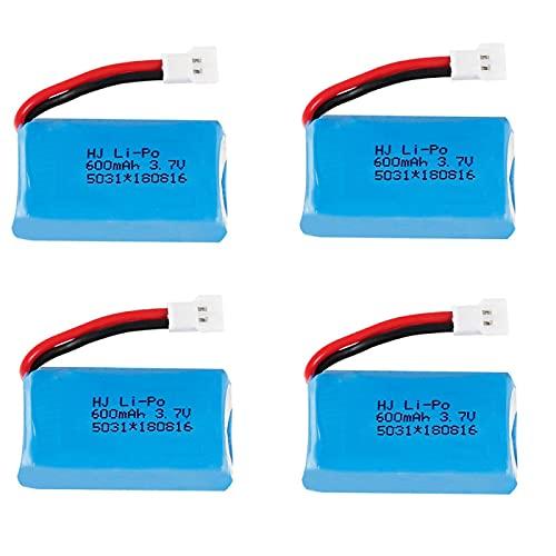RFGTYH Batteria per Syma X9 X9S Giocattoli telecomandati Elicottero Aereo Quadcopter Drone Ricambi 3.7 V 25C 752030 Batteria 4B