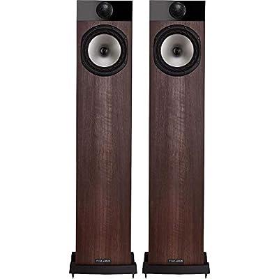 Fyne Audio F302 Floorstanding Speakers - Walnut by Fyne Audio