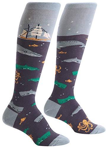 Sock It To Me Frauen-Kniestrümpfe - Sea Voyage