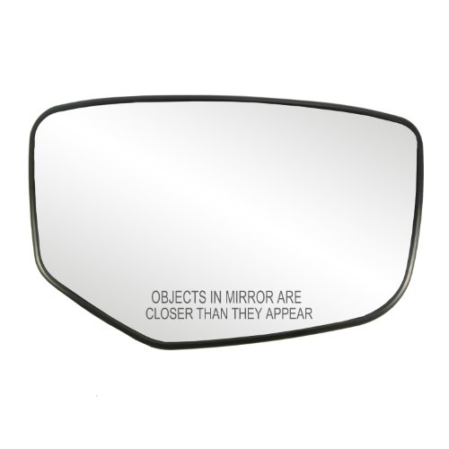 Passenger Side Non-Heated Mirror Glass w/Backing Plate, Honda Accord, 4 7/8' x 7 5/8' x 7 3/4', Will not fit Crosstour