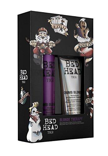Preisvergleich Produktbild Tigi Geschenk-Set Blonde Therapy 400 ml Shampoo & 200 ml Treatment für blondes Haar